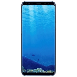 Чехол-накладка для Samsung Galaxy S8 Plus (Clear Cover EF-QG955CLEGRU) (голубой)