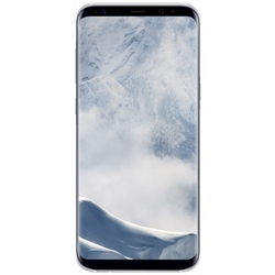 Чехол-накладка для Samsung Galaxy S8 Plus (Clear Cover EF-QG955CSEGRU) (серебристый)