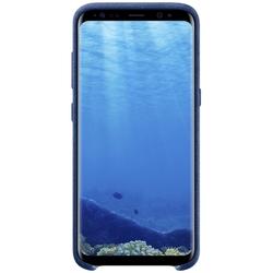 Чехол-накладка для Samsung Galaxy S8 Plus (Alcantara Cover EF-XG955ALEGRU) (голубой)