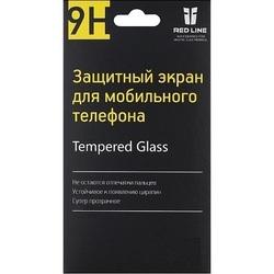 Защитное стекло для Samsung Galaxy A3 2017 (Tempered Glass YT000010443) (Full screen, розовый)