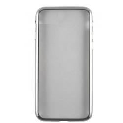 Чехол-накладка для Huawei Honor 6C (iBox Blaze YT000011388) (серебристая рамка)