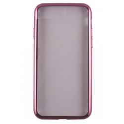 Чехол-накладка для Samsung Galaxy S8 Plus (iBox Blaze YT000011340) (розовая рамка)