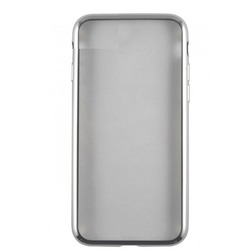 Чехол-накладка для Samsung Galaxy S8 Plus (iBox Blaze YT000010814) (серебристая рамка)
