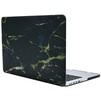 Чехол-накладка для Apple Macbook Pro 13 Retina (i-Blason 663156) (черно-золотистый мрамор) - Чехол для ноутбукаЧехлы для ноутбуков<br>Пластиковый чехол надежно защищает все внешние поверхности и углы ноутбука, оставляя открытым доступ ко всем портам, клавиатуре, экрану и камере.<br>