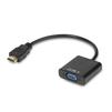 Переходник HDMI - VGA + audio + microUSB (Greenconnect GCR-HD2VGA3) - HDMI кабель, переходникHDMI кабели и переходники<br>Переходник для вывода изображения со звуком с ноутбука или компьютера с HDMI-выходом на проектор или монитор с VGA-входом.<br>