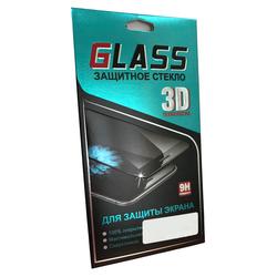Защитное стекло для Samsung Galaxy A3 2017 (3D Fiber Positive 4205) (черный)