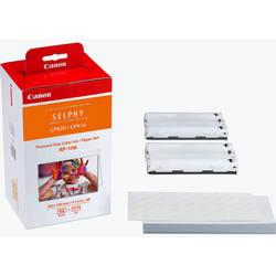 Набор для печати для Canon Selphy CP820, CP910, CP1000, CP1200 (Canon RP-108 8568B001) (фотобумага, 2 картриджа)