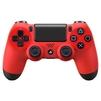 Sony Dualshock 4 v2 (CUH-ZCT2E) (красный) - Руль, джойстик, геймпадРули, джойстики, геймпады<br>Беспроводной геймпад для PS4, виброотдача, кнопок: 10, два мини-джойстика, имеется крестовина (D-pad)<br>
