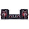 LG CJ87 (черный) - Музыкальный центрМузыкальные центры<br>Минисистема, 2.0, 2350 Вт, CD, CDRW, FM, USB, Bluetooth.<br>