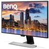 Benq EW2770QZ (черный) - МониторМониторы<br>ЖК-монитор с диагональю 27, разрешение 2560x1440 (16:9), светодиодная (LED) подсветка, подключение: DVI, HDMI, яркость 350 кд/м2, время отклика 5 мс, матрица IPS, глянцевый.<br>