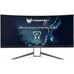"монитор acer 34"" predator x34a черный ips led 4ms 21:9 hdmi m, m матовая has pivot 300cd 3440x1440 displayport qhd usb 9.96кг"