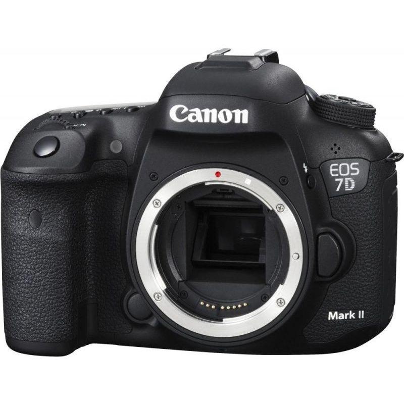 """Зеркальный Фотоаппарат Canon EOS 7D Mark II Body+W-E1 черный 20.2Mpix 3"""" 1080p Full HD CF Li-ion - Фотоаппарат цифровой"""