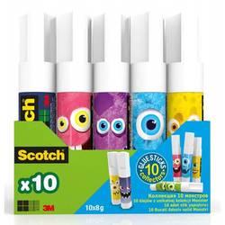 Клей-карандаш 3M Scotch Монстры 7100116518 8гр