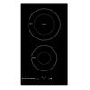 Electronicsdeluxe 3002.10 (черный) - Варочная поверхностьВарочные панели<br>Electronicsdeluxe 3002.10 - электрическая варочная поверхность, индукционная, независимая, 2 конфорки, стеклокерамика, переключатели сенсорные, 3.7 кВт<br>
