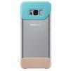 Чехол-бампер для Samsung Galaxy S8 Plus (2Piece Cover EF-MG955CMEGRU) (зеленый, коричневый) - Чехол для телефонаЧехлы для мобильных телефонов<br>Надежно защитит смартфон от внешних воздействий, попадания грязи, пыли и брызг.<br>