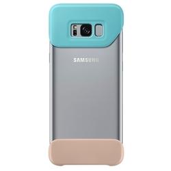 Чехол-бампер для Samsung Galaxy S8 Plus (2Piece Cover EF-MG955CMEGRU) (зеленый, коричневый)