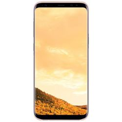 Чехол-накладка для Samsung Galaxy S8 (Clear Cover EF-QG950CPEGRU) (розовый, прозрачный)