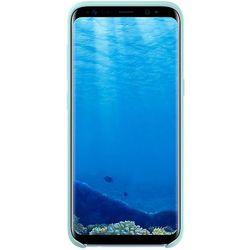 Чехол-накладка для Samsung Galaxy S8 (Samsung Silicone Cover EF-PG950TLEGRU) (голубой)