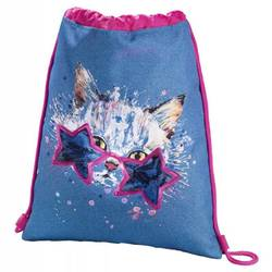 Hama Crazy cat (синий, розовый)