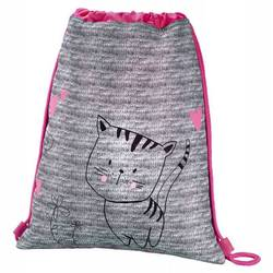 Hama Lovely cat (серый, розовый)