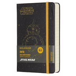 Ежедневник Moleskine STAR WARS POCKET LE 90x140мм 400стр. фиксирующая резинка черный BB-8