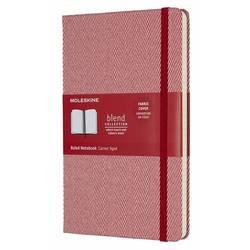 Блокнот Moleskine BLEND LARGE Limited Edition 130х210мм обложка текстиль 192стр. линейка красный