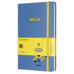 Блокнот Moleskine Limited Edition MINIONS LEMI01QP060B29 Large 130х210мм 240стр. линейка голубой
