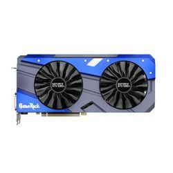 Palit GeForce GTX 1080Ti 1505Mhz PCI-E 3.0 11264Mb 11000Mhz 352bit DVI HDMI HDCP GameRock RTL