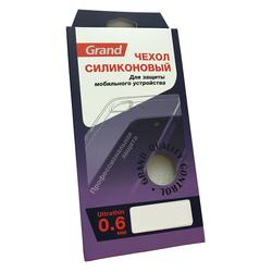 Чехол-накладка для Lenovo K5 Note (Positive 4321) (прозрачный)