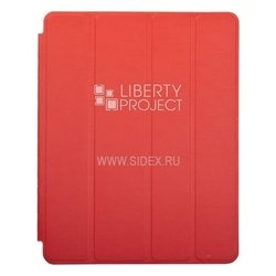 Чехол книжка для Apple iPad 2, 3, 4 (Smart Case 0L-00032098) (красный)