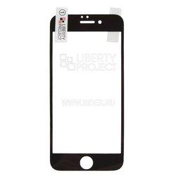 Защитная пленка для Apple iPhone 7 (Liberti Project 3D 0L-00031408) (прозрачный, черная рамка)