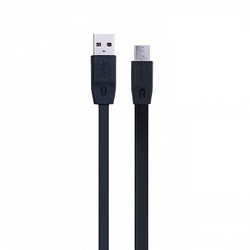Кабель USB - microUSB 1м (Remax Full Speed) (черный)
