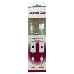"USB Дата-кабель ""Magnetic Cable"" магнитный Charge&Sync USB Type C (белый, коробка)"