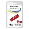 Exployd 560 16GB (красный) - USB Flash driveUSB Flash drive<br>Exployd 560 - флеш-накопитель, объем 16Гб, USB 2.0, 15Мб/с.<br>
