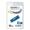 Exployd 560 16GB (синий) - USB Flash driveUSB Flash drive<br>Exployd 560 - флеш-накопитель, объем 16Гб, USB 2.0, 15Мб/с.<br>