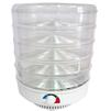Сушилка для овощей Ветерок-5 (5 поддонов) (прозрачный) - Сушилка для овощей, фруктов, грибовЭлектросушилки для овощей, фруктов, грибов<br>Предназначена для сушки овощей, трав, грибов и фруктов в домашних условиях.<br>