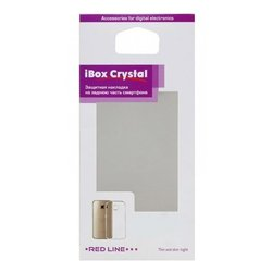 Чехол-накладка для LG K4 (iBox Crystal YT000008679) (красный)