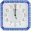 Vigor К-28 Классика в синем с печатью - Настенные часыНастенные часы<br>Часы настенные Vigor К-28 Классика в синем с печатью, 280 мм, минеральное стекло.<br>