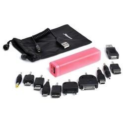 Универсальный аккумулятор iSmartDigi Energy Air S 2600mAh (розовый) (UMP-006)