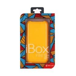 Чехол-накладка для Lenovo A319 (iBox Fresh YT000006849) (желтый)