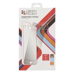 Защитное стекло с рамкой для Apple iPhone 6, 6s Plus (Liberti Project 0L-00029181)