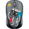 Logitech M238 Doodle Collection (910-005049) (рисунок) - Мыши и КлавиатурыМыши и Клавиатуры<br>Logitech M238 Doodle Collection - компьютерная мышь, беспроводная, USB, 3 клавиши, 1000 dpi, 1хАА, 84г<br>