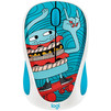 Logitech M238 Doodle Collection (910-005052) (рисунок) - Мыши и КлавиатурыМыши и Клавиатуры<br>Logitech M238 Doodle Collection - компьютерная мышь, беспроводная, USB, 3 клавиши, 1000 dpi, 1хАА, 84г<br>