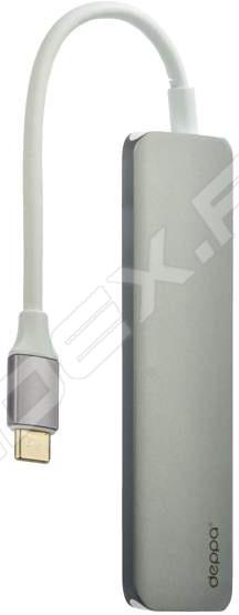 Концентратор USB PC Pet Snake 4 порта USB2.0 цветной