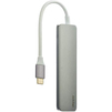 Хаб USB Type-C 3.0 на 2 порта (Deppa 73118) (графит) - USB HUBUSB HUB<br>Концентратор предназначен для расширения стандартных возможностей компьютера или ноутбука, благодаря увеличению базового количества разъемов USB.<br>