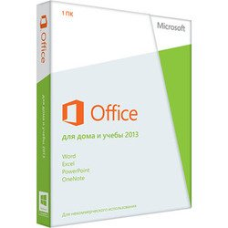 Microsoft Office Home and Student 2013 32/64 RU (79G-03740)