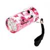 Облик 1059 (розовый) - ФонарьФонари<br>Фонарь, 6 LED, 2 x CR2032, влагозащищенный корпус, рисунок цветы.<br>