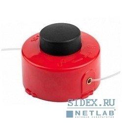 """Катушка ЗУБР для триммера с леской """"круг"""",  полуавтомат,  для ЗТЭ-450,  max диаметр лески 1.6мм,  в сборе [70116-1.6]"""