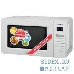 Микроволновая Печь Supra MWS-2105SW,  21 л.,  700Вт,  белый
