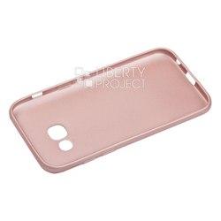 Чехол-накладка для Samsung Galaxy A3 2017 (Liberti Project 0L-00031732) (розовое золото)
